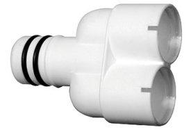 3 weg Y connector 20mm voor flexibele condensslang