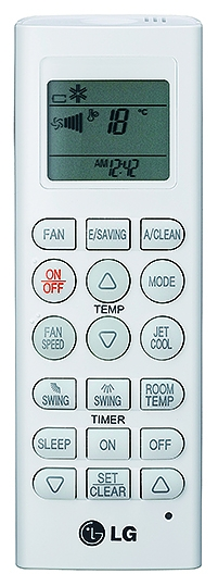 Infrarode afstandsbediening nieuw model