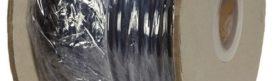 Soepele zwarte neopreen rubberkabel, H05RN-2x0,75