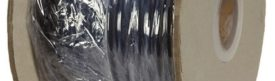 Soepele zwarte neopreen rubberkabel, H07RN-3x1,5