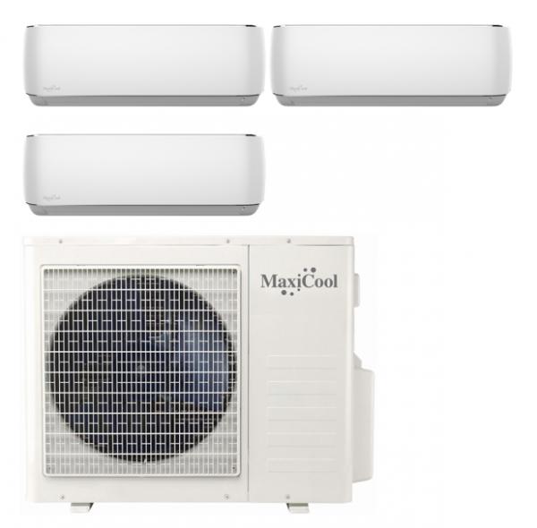 Maxicool MMD3R-090909 R32 Aurora Duo voordeelset 3 x 2,5 kW