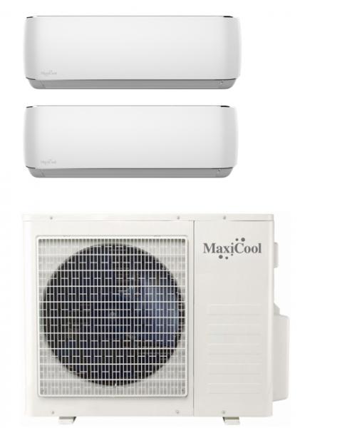 Maxicool MMD2R-0909 R32 Aurora Duo voordeelset 2 x 2,5 kW
