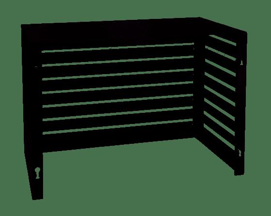 Evolar Evo-cover Small Zwart aluminium gepoedercoat